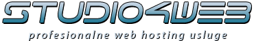 Studio4web - web hosting i registracija domena